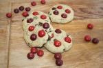 Cherry M+M Cookies