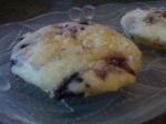 Blueberry Cream Muffin Tops