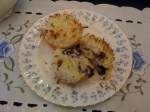 Coconut Topped Blueberry Muffins